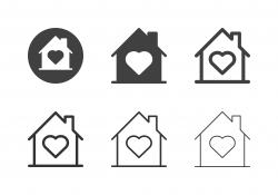 Love House Icons - Multi Series