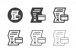 Credit Disapproved Icons - Multi Series