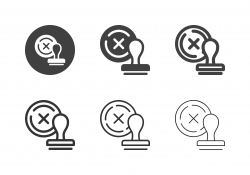 Disapproved Icons - Multi Series