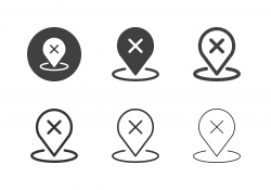 Unconfirmed Location Icons - Multi Series