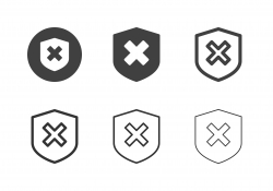 Prevention Mistake Icons - Multi Series