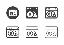 Bitcoin Portal Web Icons - Multi Series