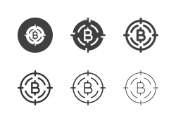 Bitcoin Target Icons - Multi Series