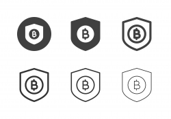 Bitcoin Security Icons - Multi Series