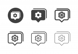 Notification Management Icons - Multi Series