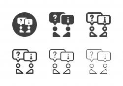 Discussion Icons - Multi Series