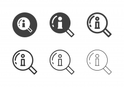 Searching Information Icons - Multi Series