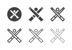 Snooker Cue Icons - Multi Series