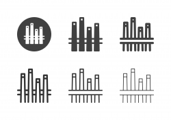 Pool Cue Icons - Multi Series
