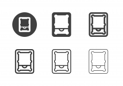 Pool Table Top View Icons - Multi Series