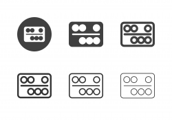 Snooker and Pool Ball Icons - Multi Series