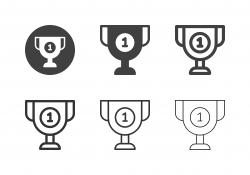 Winner Trophy Icons - Multi Series