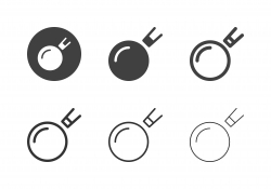 Snooker Ball and Cue Icons - Multi Series