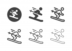 Skiing Icons - Multi Series