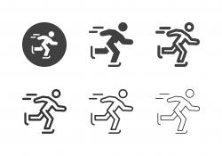 Ice Skating Icons - Multi Series