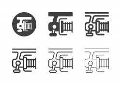 Fishing Reel Icons - Multi Series