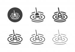 Fishing Bobber Icons - Multi Series