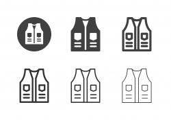 Outdoor Vest Icons - Multi Series