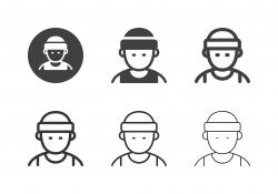 Tennis Player Icons - Multi Series