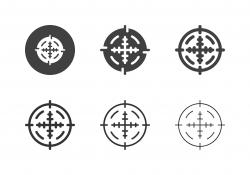 Sniper Target Icons - Multi Series