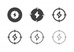 Energy Target Icons - Multi Series