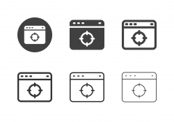 Web Page Target Icons - Multi Series