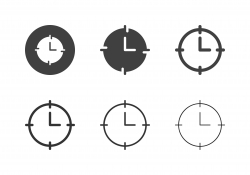 Time Target Icons - Multi Series