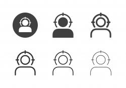 Human Target Icons - Multi Series