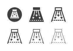 Bowling Lane Icons - Multi Series