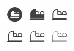 Bowling Ball Return Machine Icons - Multi Series