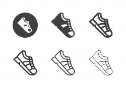 Sports Shoe Icons - Multi Series