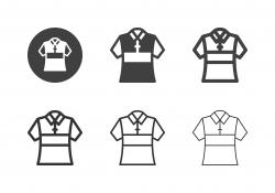 Collar T-Shirt Icons - Multi Series