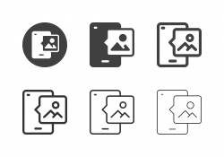 Mobile Gallery Icons - Multi Series