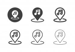 Music Hall Icons - Multi Series