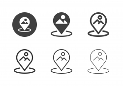 Nature View Point Icons - Multi Series