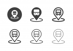Transport Station Icons - Multi Series