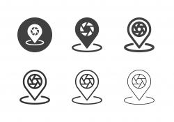 Photo Spot Icons - Multi Series