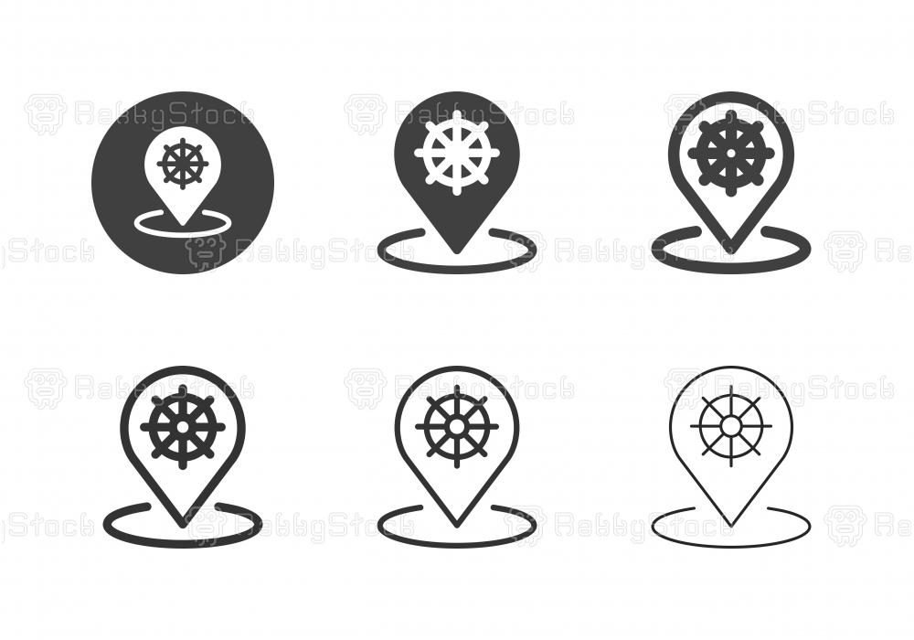 Pier Icons - Multi Series
