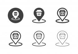 Garbage Dump Icons - Multi Series