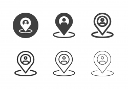 People Tracking Icons - Multi Series