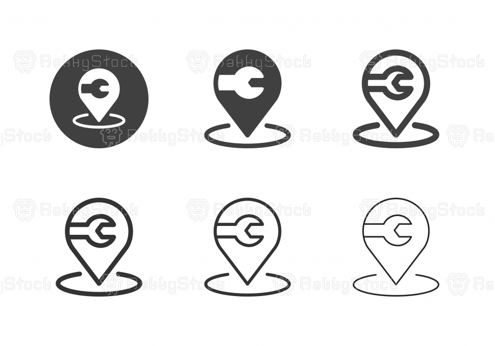 Repair Shop Icons - Multi Series