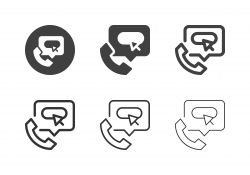 IT-Support Hotline Icons - Multi Series