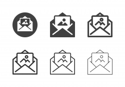 Photo Letter Icons - Multi Series