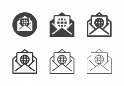 Global Letter Icons - Multi Series