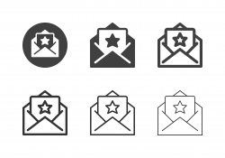 Rating Letter Icons - Multi Series