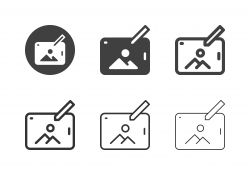 Tablet Image Viewer Icons - Multi Series