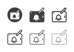 Tablet Push Notification Icons - Multi Series