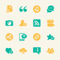 Blog Icons - Color Series