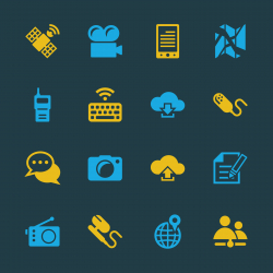 Communication Icons Set 4 - Color Series