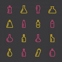 Bottle Icons Set 2 - Color Series